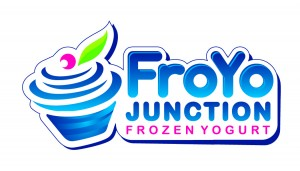 FroYo Junction Logo Vector on white background